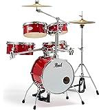 Pearl 小型 ドラムセット RT-645N/C 94-キャンディアップル パール リズムトラベラー Version 3S