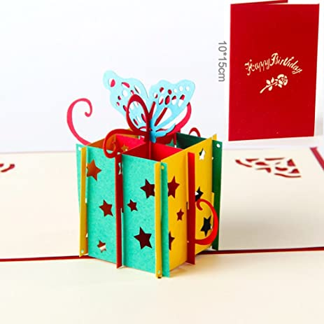 Amazon Paper Spiritz Pop Up Birthday Cards For Children Women