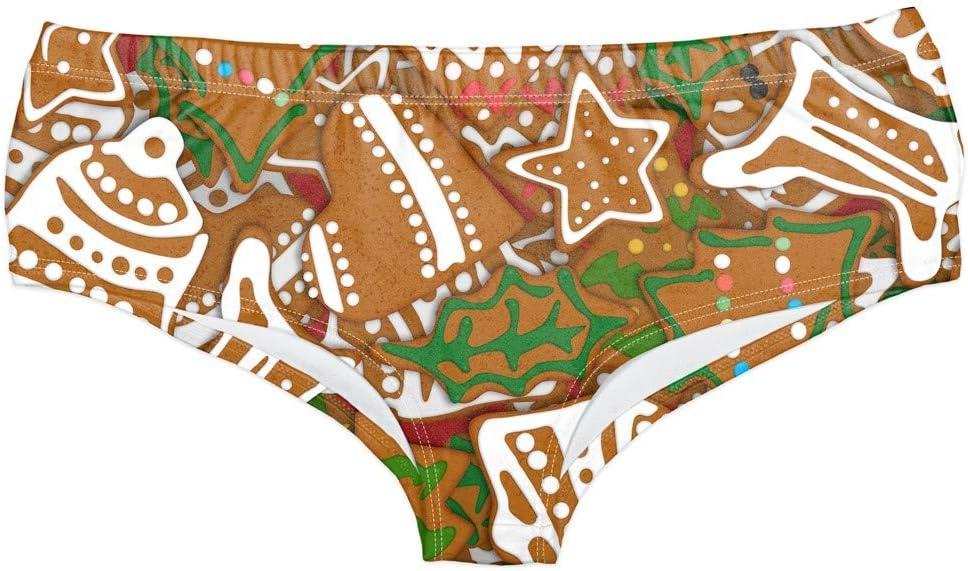 Sylar Braguitas Culotte De Mujer Festival Braguitas Culotte De Poliéster 3D Impresión Bikinis Para Navidad Señoras Bragas Bragas Con Cinta Elástica Braguitas Por La Cadera Estilo Sporty Para Mujer: Amazon.es: Salud y