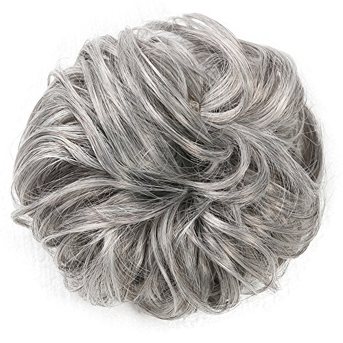 MERRYLIGHT Ladies Hair Bun Chignon Hair Piece