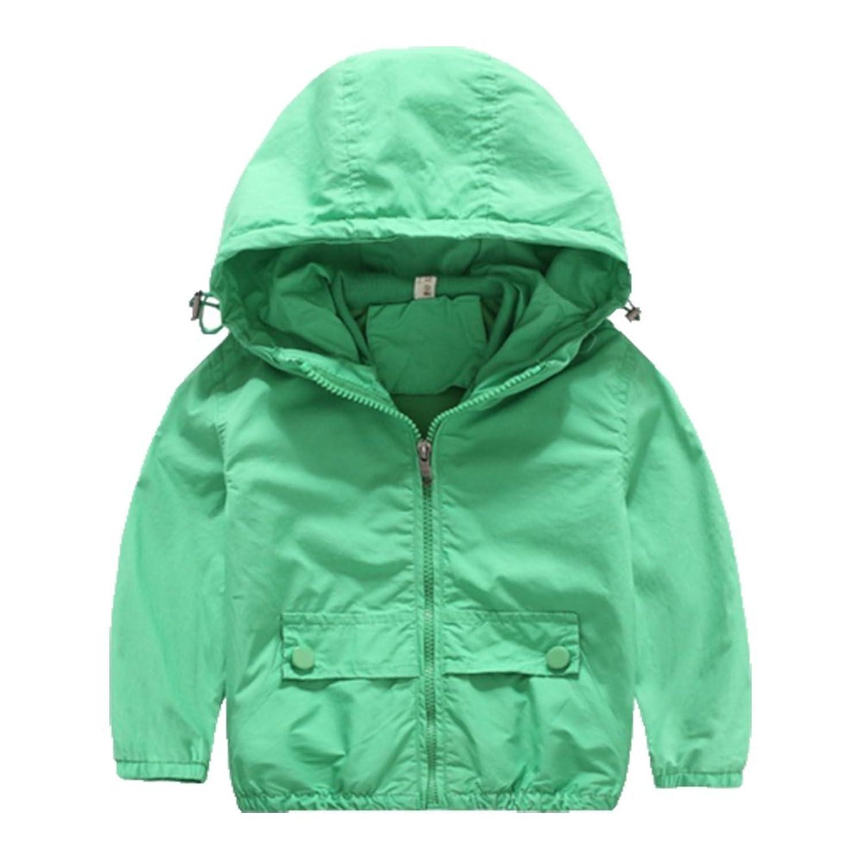 OHmais Unisexe enfant garçon fille veste d'hiver manteau à capuche