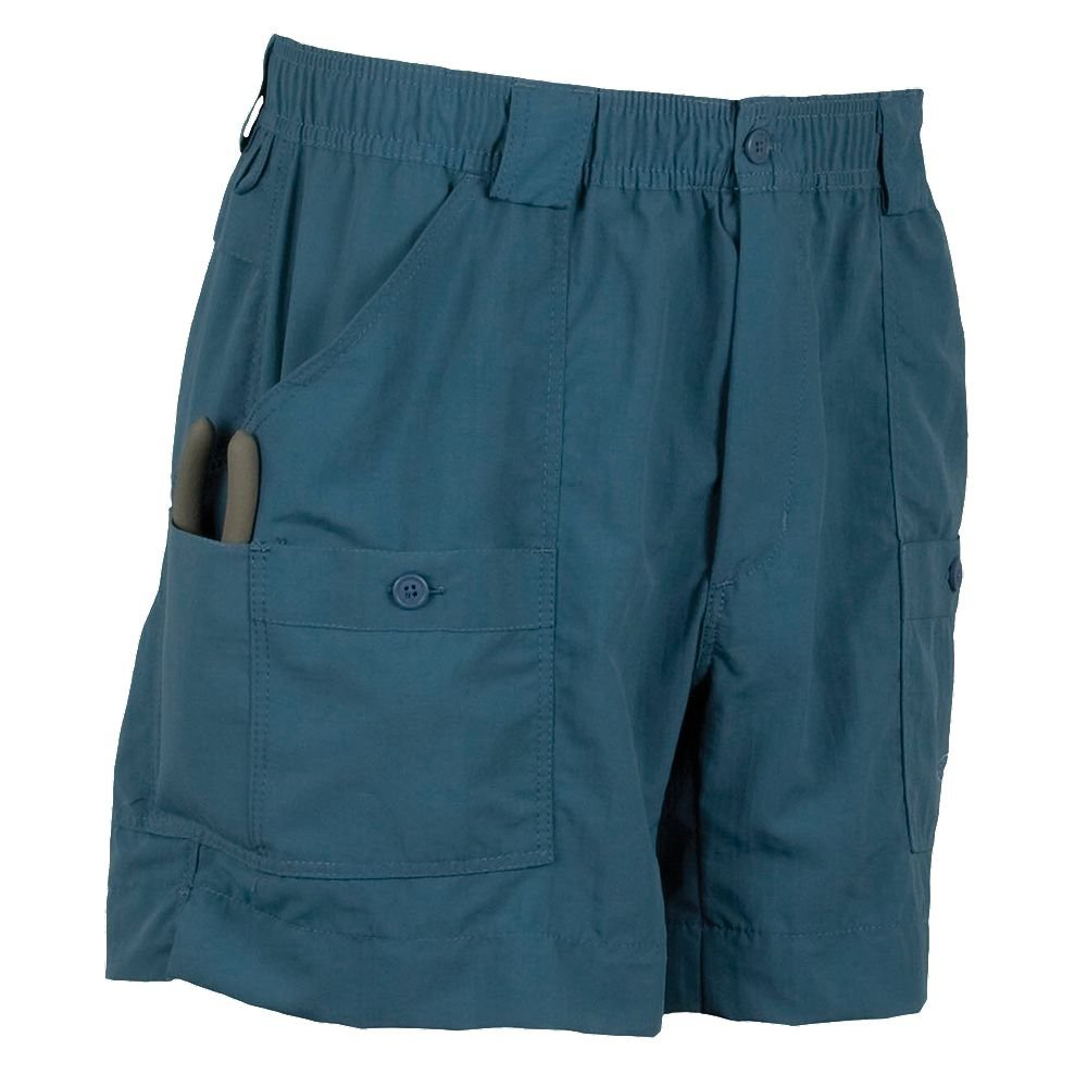 AFTCO Bluewater M01 ''Original'' Traditional Fishing Shorts - Ocean - 38''