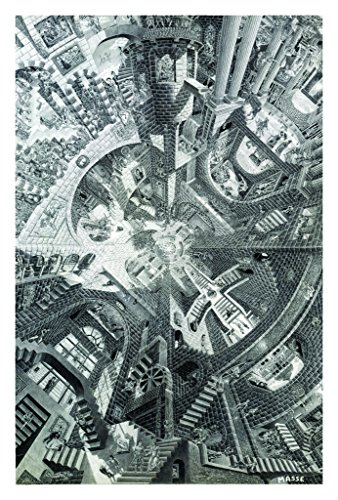 The Atrium Poster by Tom Masse 22 x 32in