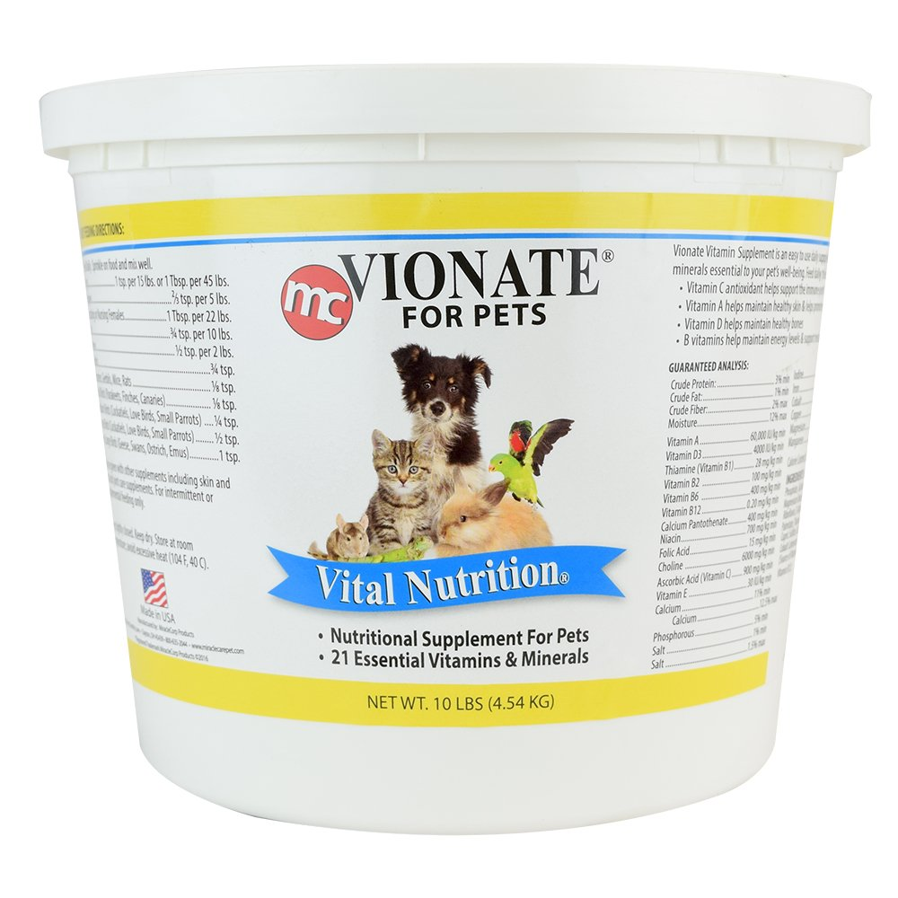 Miracle Care Vionate Vitamin Mineral Powder, 10-Pound by Miracle Care