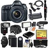 128 gb extreme pro cf card - Canon EOS 5D Mark IV 4K Wi-Fi Digital SLR Camera & 24-105mm f/4L IS II USM Lens + 128GB CF Card + Battery & Charger + Grip + Case + Flash + LED Light + Mic Kit