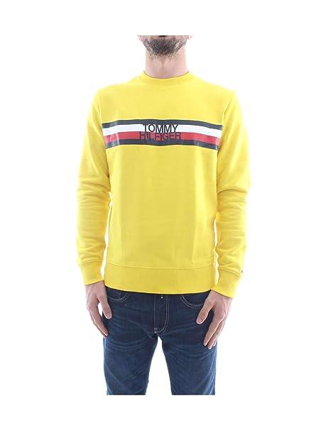 Tommy Hilfiger Tommy Logo Sweatshirt, Sudadera para Hombre: Amazon.es: Ropa y accesorios