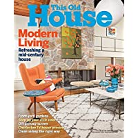 This Old House Magazine Subscription 1 Year 8 Issues