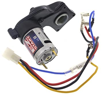 615YE7uD8OL._SX355_ amazon com traxxas nitro rustler 2 5 * ez start motor & wiring traxxas wiring harness at readyjetset.co