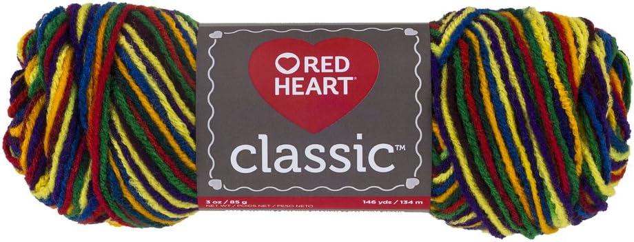 Warm Brown Red Heart Classic Yarn