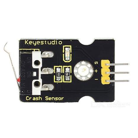 YPS Keyestudio colisión Crash Sensor para Arduino – Negro ard0949