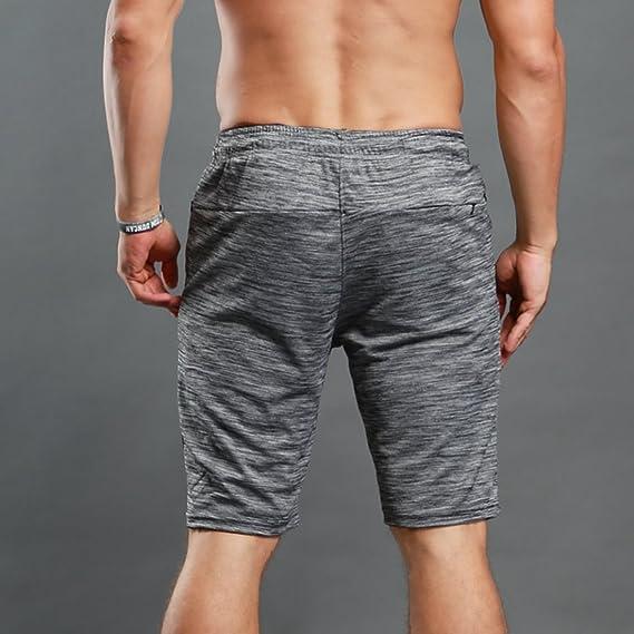 Pantalones Cortos De Entrenamiento Active Cool Dry Para Hombres Bodybuilding Gym Running Shorts Shorts De… z6WLoqmo