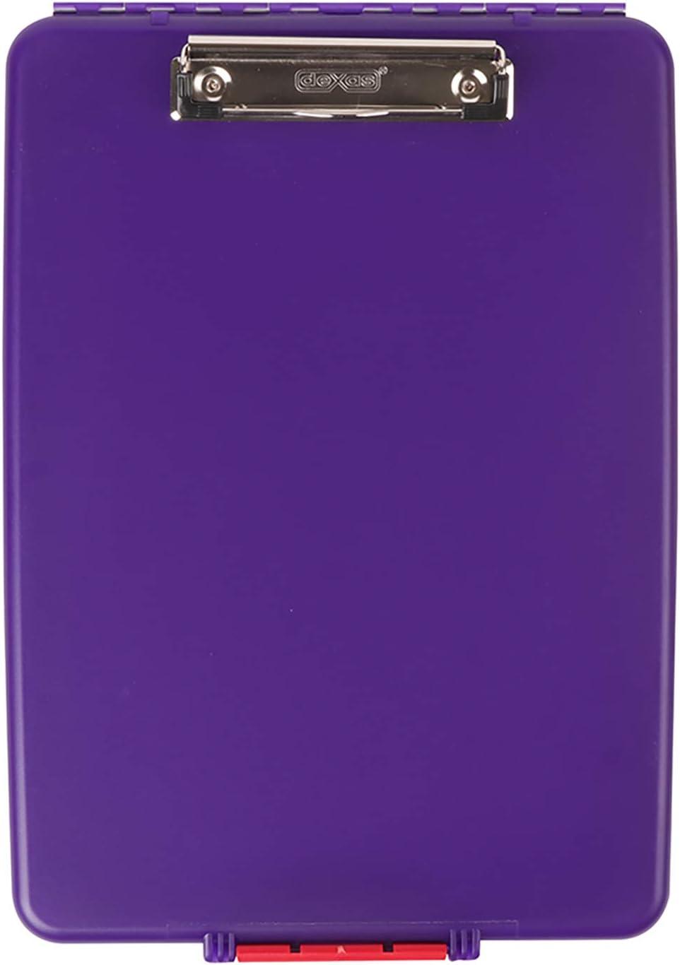 Purple Dexas Slimcase Storage Clipboard