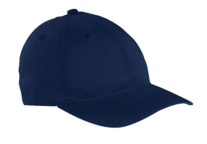 664f79e3d8132a Yupoong Flexfit Garment Washed Twill Cap, Navy, L/Xl at Amazon Men's  Clothing store: Baseball Caps