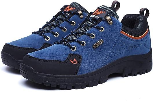 WOWEI Chaussures de Randonn/ée en Plein Air Imperm/éable Respirant Antid/érapant Bottes de Trekking Promenades Voyages Sneakers pour Femme Hommes