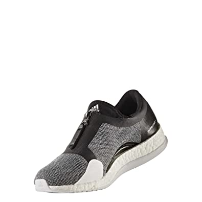 online store 4f55e 932e4 adidas Damen Pureboost X Tr Zip Fitnessschuhe, Schwarz  (NegbasPlametFtwbla)