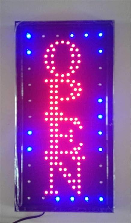 Luci Al Neon Per Ufficio.Cartello Aperto Con Luci Al Neon Con Luci Led Per Negozi E Negozi