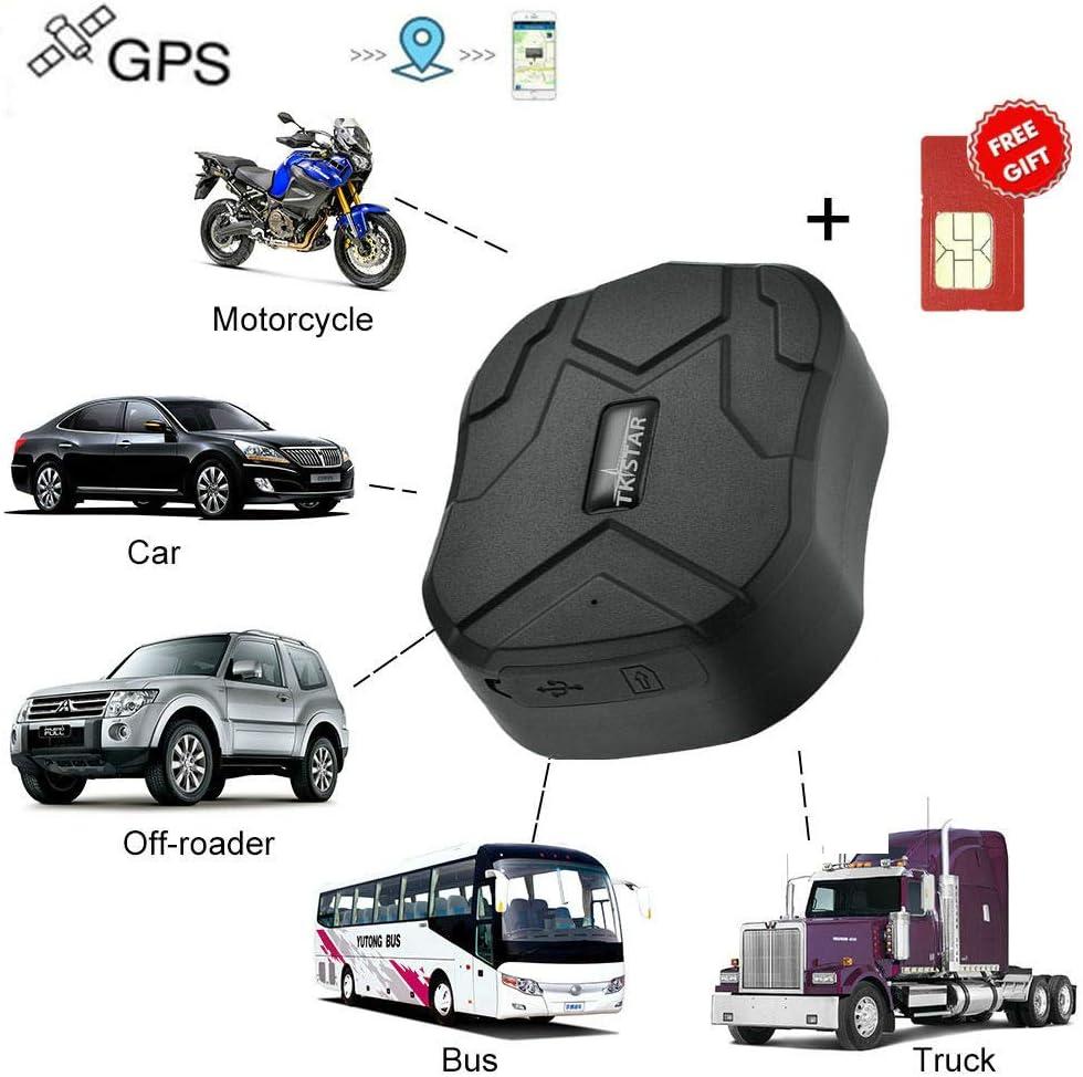 Rastreador GPS Winnes GPS Tracker Seguimiento en Tiempo Real, Localizador para Coche, Moto, camión, aplicación Gratuita, Tarjeta SIM incluida: Amazon.es: Electrónica