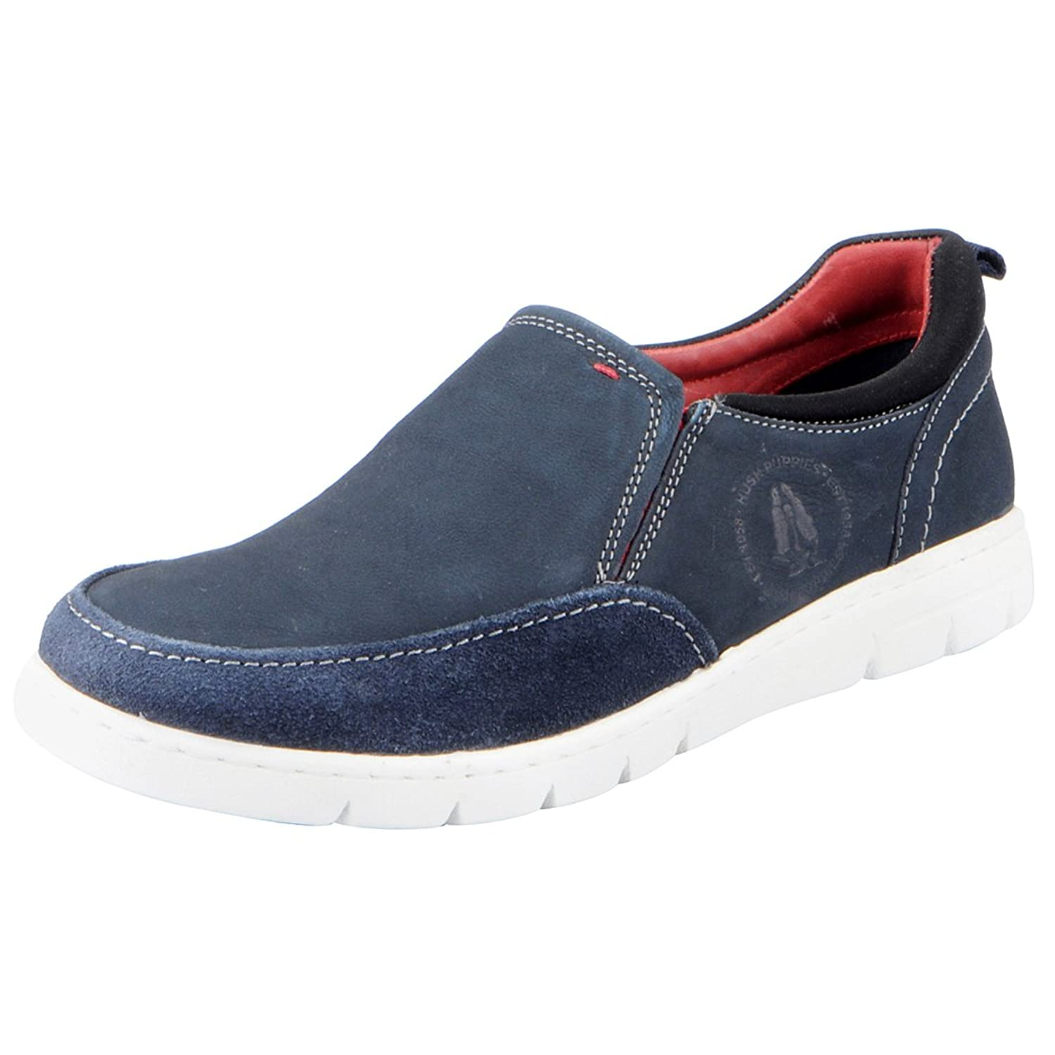 Hush Puppies Mens Blue Loafers 853 9912 41 Buy Online At Low