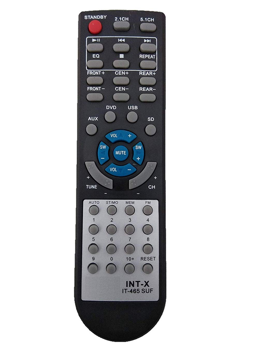 BhalTech IT-465 SUF 2.1/5.1 CH AUX USB Home Theater System Remote Control Compatible for Home Theater INTEX (B07KYDHPFQ) Amazon Price History, Amazon Price Tracker