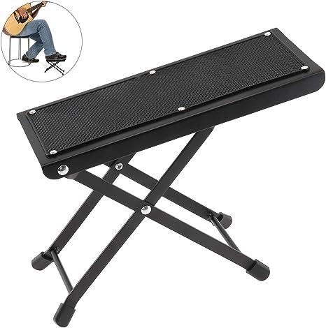 OriGlam - Reposapiés para guitarra, altura ajustable, reposapiés ...