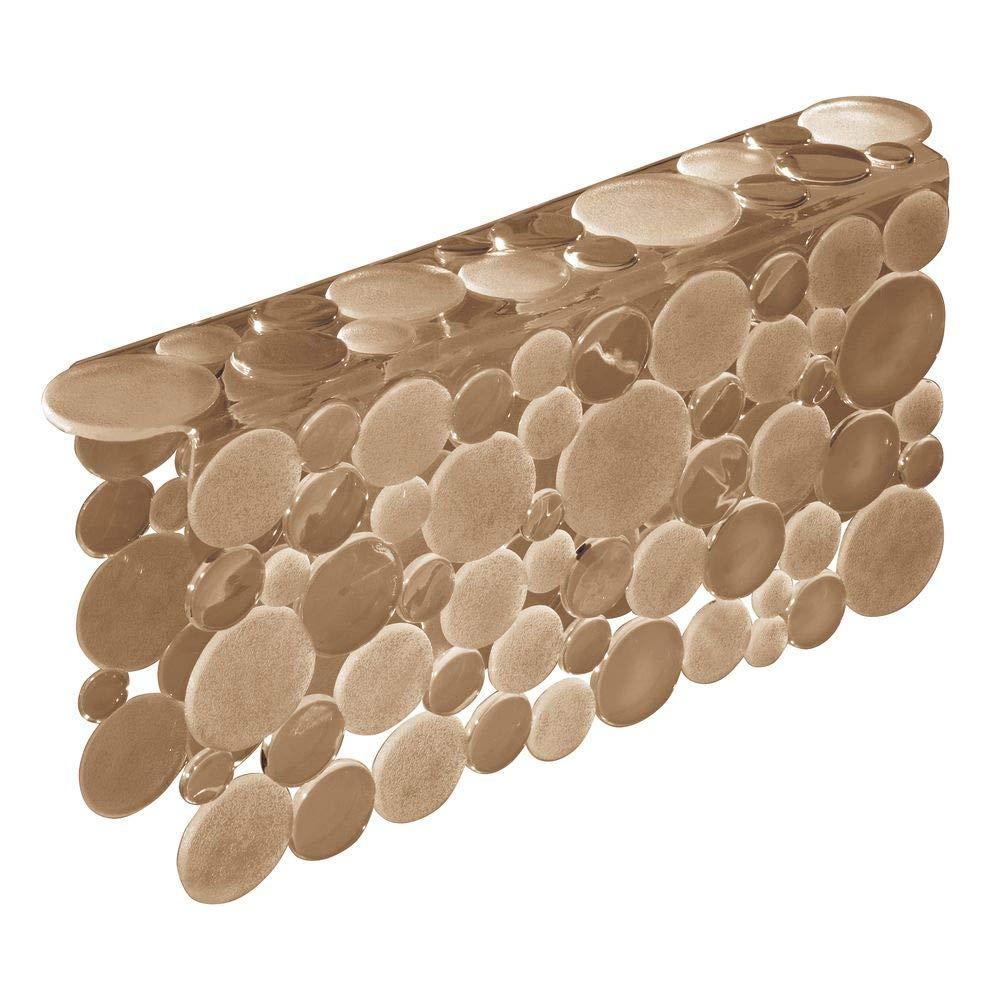 Grande Tappetino lavandino Protettivo Rosso Bruno mDesign Set da 3 Tappetini per lavello Cucina in plastica Accessori Cucina per lavello a Doppia Vasca