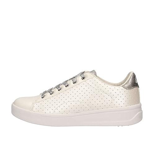 Lumberjack Sneakers Donna SW30005-001 Bianco Nuovo  Amazon.it  Scarpe e  borse c6bb1503df2