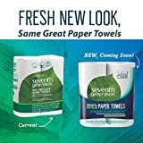 Seventh Generation Paper Towels, 100% Recycled Paper, 2-ply, 2 Rolls (Packaging May Vary)