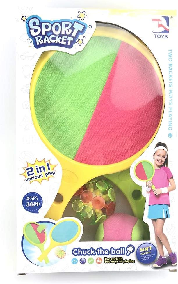 likeitwell Easiest Racket Game Girls an Indoor Outdoor Year-Round Fun Racquet Game for Boys and People of All Ages
