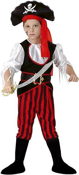 Disfraz Pirata Para Niño de 10-12 Años: Amazon.es: Juguetes y juegos