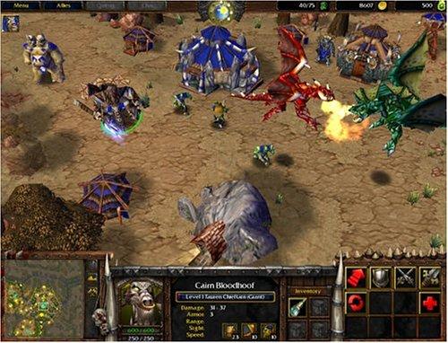 Warcraft 3 Reign of Chaos: Amazon co uk: Electronics