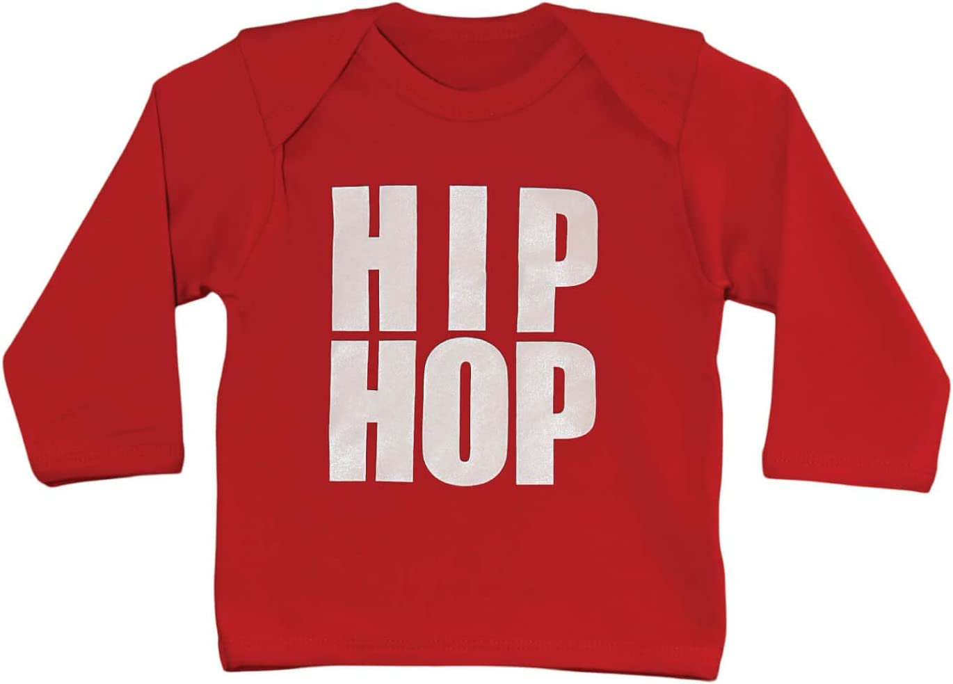 Hip Hop Cool Rosso Bambino T Shirt ideale per magliette rosso Red 0-6 mesi