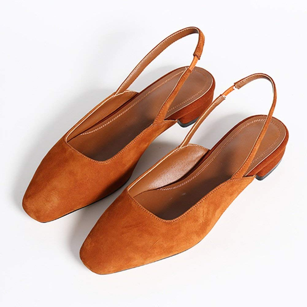 orange Comfortable and beautiful ladies sandals Sandals Rubber Female Summer Fashion Low-heeled Single shoes