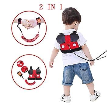 Kids Wrist Link Safety Harness Toddler Wrist Strap Reins Kids Children Baby New