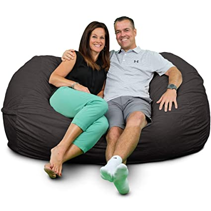 Excellent Amazon Com Ultimate Sack Lounger Bean Bag Chair Giant Foam Onthecornerstone Fun Painted Chair Ideas Images Onthecornerstoneorg