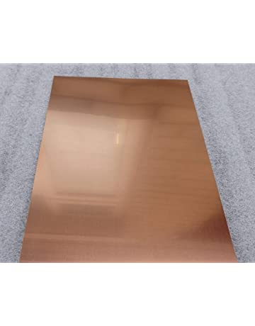 1pcs Brass Metal Sheet Plate 1mm x 200mm x 200mm 90 day warranty
