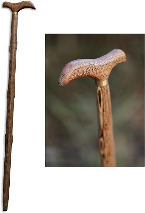 Baiter hecho a mano bastón Hombres y Mujeres de madera ...
