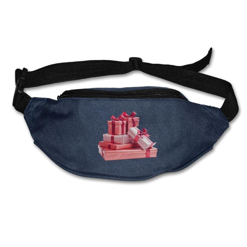 Janeither Unisex Pockets Valentine s Day Gift Fanny Pack Waist Bum Bag  Adjustable Belt Bags Running e28d95a346b38