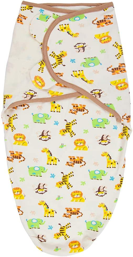 Bestshope Baby Swaddle Wrap Blanket Newborn and Infant 0-12 Months Swaddling Sleeping Bag with Adjustable Wings for Girls /& Boys