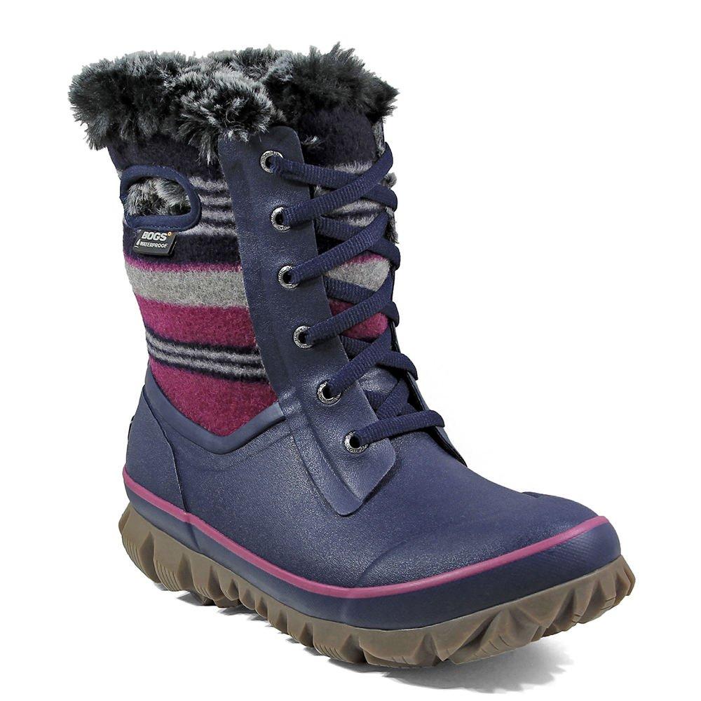 Bogs Womens Arcata Sripe Snow Boot