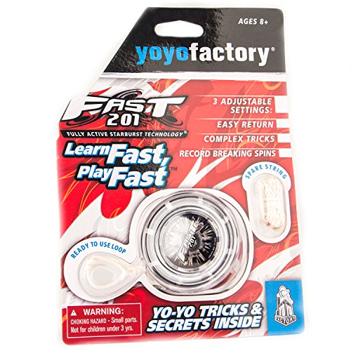 F.A.S.T. 201 Professional YoYo- Black and Grey