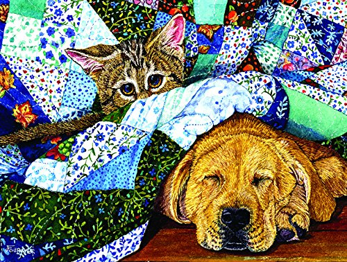 Quilted Comfort 500 Piece Jigsaw Puzzle by SunsOut