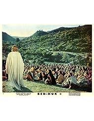 Ben-Hur Original Lobby Card Jesus Talks To People On Hillside