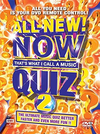Now Thats What I Call A Music Quiz 2 - Interactive DVD Game