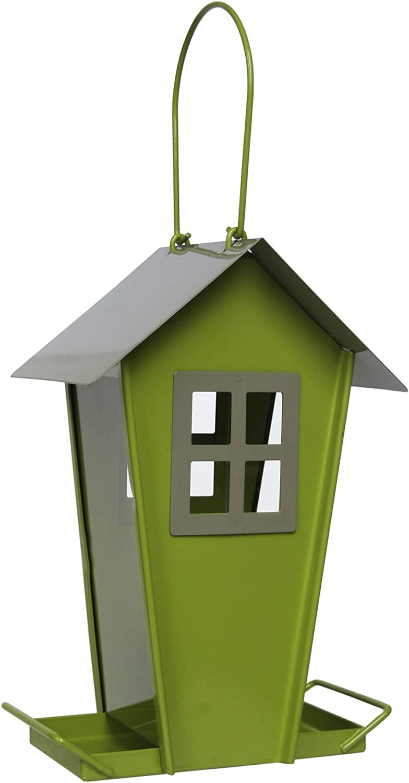 Supa Sutherland - Comedero para pájaros Silvestres (3 Unidades), diseño contemporáneo en Forma de casa