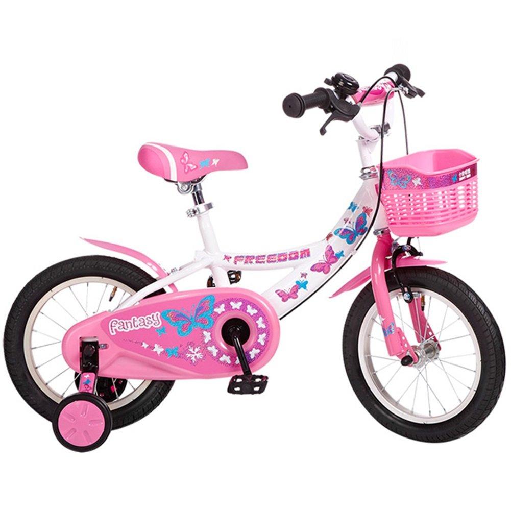 XQ 子供の自転車ベビーバイク2-4-6歳12インチのベビーキャリッジ女性モデル自転車 ピンク 子ども用自転車 ( 色 : ピンク ぴんく ) B07CK1QZ1Hピンク ぴんく