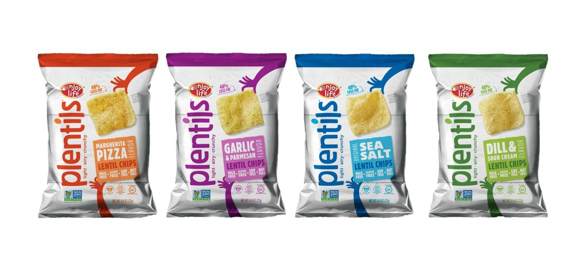 Enjoy Life Plentils Single-Serve Variety Pack,  Gluten, Dairy, Nut & Soy Free, 0.8-Ounce (Pack of 24)