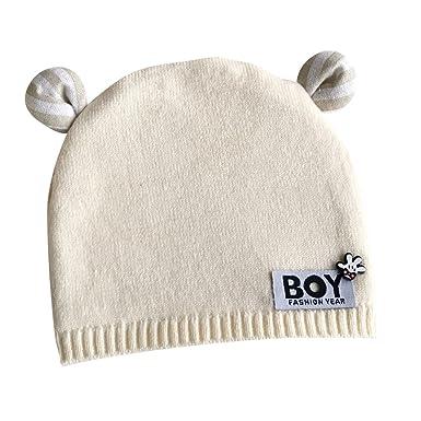 Baby Beanie Hut Mit Ohren Kleinkind Säugling Kinder Kinder Häkeln