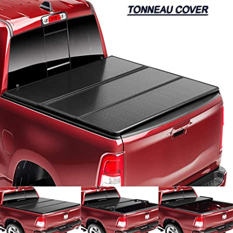 Mago Tri Fold Tonneau Cover 5 8 Feet Hard Truck Trunk Lid Frp Honeycomb Panel Applicable Dodge Ram 170cm 175cm Amazon Co Uk Sports Outdoors