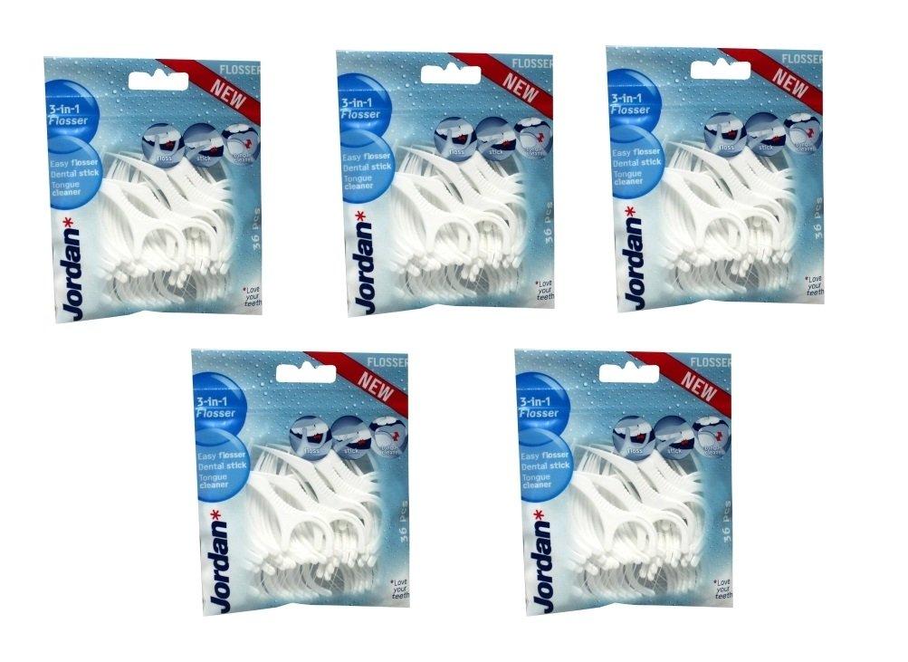 sale retailer c96ad 9ccaa Jordan 3 in 1 Flosser - 5 Packs: Amazon.co.uk: Health ...