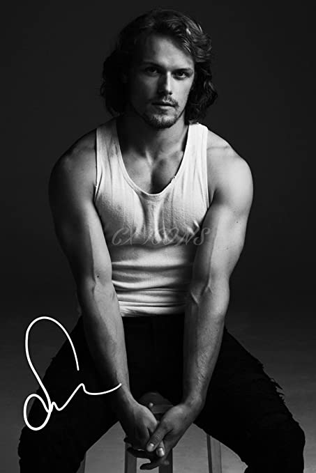 Sam Heughan Photo Print Poster - Pre Signed - Extraordinary Quality -  Outlander (12x8 inches (A4 Size) 30cm x 20cm)